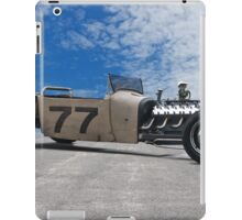 Rat Rod Roadster Pickup 'Lincoln Zephyr V12' iPad Case/Skin
