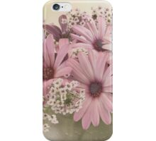 Pink Osteospernum Flowers iPhone Case/Skin