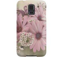 Pink Osteospernum Flowers Samsung Galaxy Case/Skin