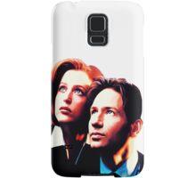 Scully Mulder X Files  Samsung Galaxy Case/Skin