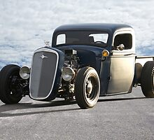 1936 Chevy Rat Pickup 'The Accomplice' by DaveKoontz
