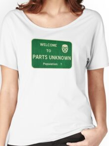 Welcome To Parts Unknown Women's Relaxed Fit T-Shirt