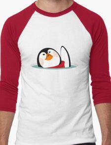 My little penguin Men's Baseball ¾ T-Shirt