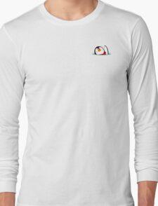 Corner penguin Long Sleeve T-Shirt