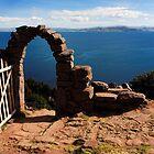 Old Gate On Lake Titticaca by aguakina