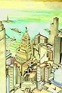 Lower Manhattan ( 2007 ) by John Dicandia ( JinnDoW )
