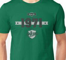 Born in 1971 Unisex T-Shirt