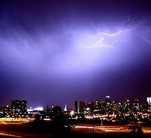 Lightning over Denver 2 by greg1701