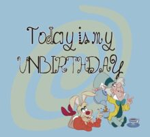 """Today is My Unbirthday"" One Piece - Short Sleeve"