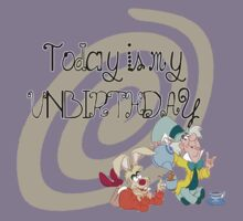 """""""Today is My Unbirthday"""" Kids Tee"""