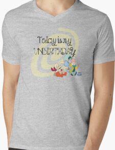 """Today is My Unbirthday"" Mens V-Neck T-Shirt"