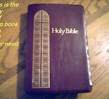 THE BIBLE IS THE BOOK OF LIFE by trisha22