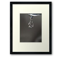 Happy Drop - Proof Water Makes You Feel Good ☺ Framed Print