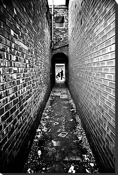 Back Alley, Edgeley, Stockport. by maxblack