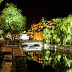 Old Lijiang City & Canal by MiImages