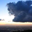 Sunset from Mount Dandenong 2 by Ian Stevenson