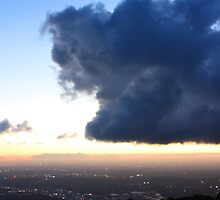 Sunset from Mount Dandenong 2 by Ian Stevenson