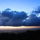 Sunset from Mount Dandenong 3 by Ian Stevenson