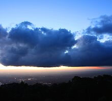 Sunset from Mount Dandenong 3 by Ian Stevenson