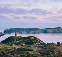 Calf of Man : Sunset from Bradda Head  by manxphotography