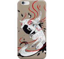 Okami Amaterasu RIBBONS iPhone Case/Skin