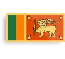Sri Lanka, national id Metal Print