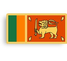 Sri Lanka, national id Canvas Print
