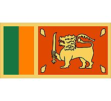 Sri Lanka, national id Photographic Print