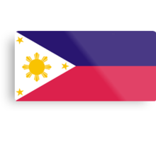 Philippines, national id Metal Print