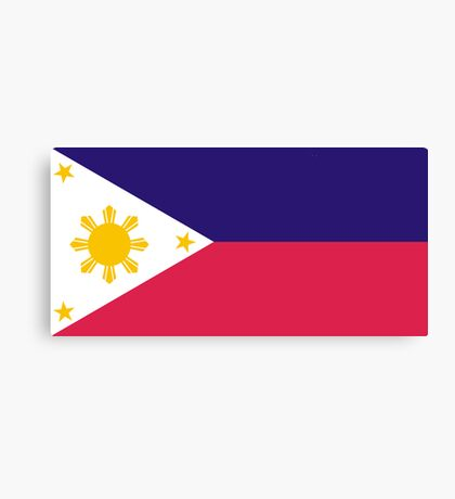 Philippines, national id Canvas Print