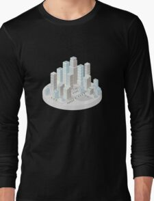 Skyscrapers Long Sleeve T-Shirt