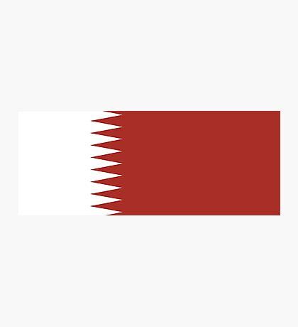 Qatar, national id Photographic Print