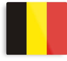 Belgium, national id Metal Print