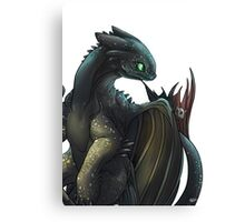 Toothless #2 Canvas Print