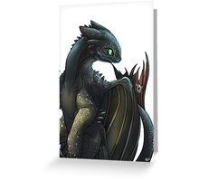 Toothless #2 Greeting Card