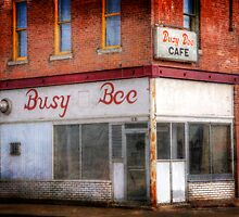 Busy Bee Cafe by Delany Dean