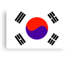 South Korea, national id Canvas Print