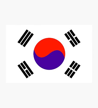 South Korea, national id Photographic Print