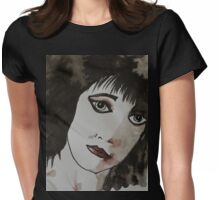 Punk girl Womens Fitted T-Shirt