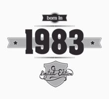 Born in 1983 Kids Clothes