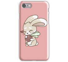Cute Bunny Loves Radish iPhone Case/Skin