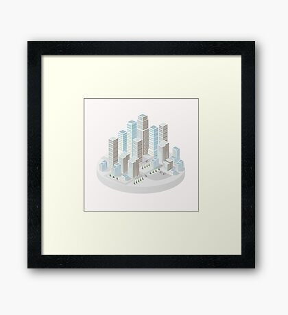 Skyscrapers Framed Print
