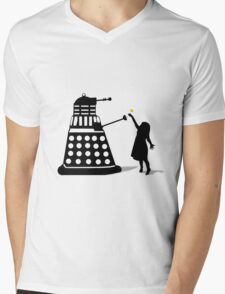 Dalek Stasis Theory Mens V-Neck T-Shirt
