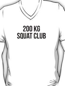 200 KG SQUAT CLUB T-Shirt