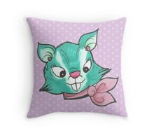 Kitsch Critter Suki the Squirrel Throw Pillow