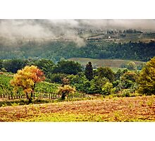 Autumnal hills Photographic Print