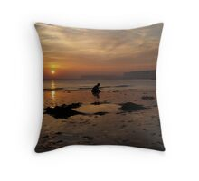 Sussex Coast. Throw Pillow
