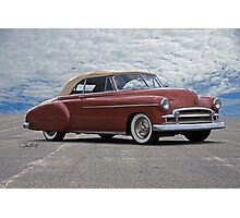 1950 Chevrolet Custom Convertible Photographic Print