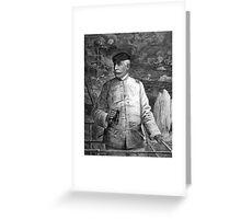 Admiral Dewey At Sea Greeting Card