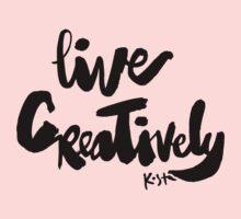 Live Creatively : Light One Piece - Short Sleeve